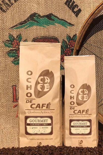 Ocho de café. Gourmet Oro