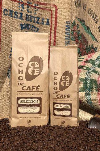Ocho de café. Selección mezcla 80/20