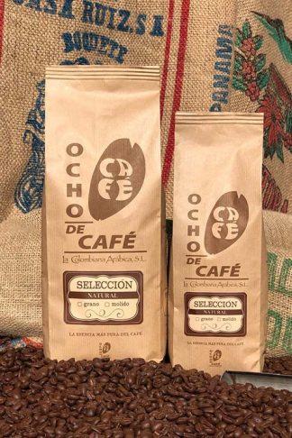 Ocho de café. Selección natural