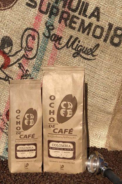 Ocho de café. Supremo de Altura
